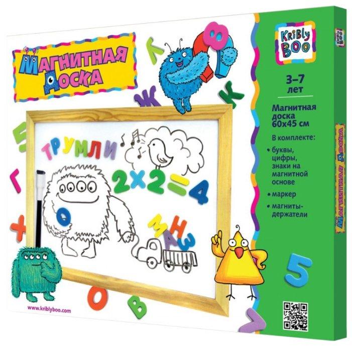 Доска для рисования детская Kribly Boo с деревянной рамкой (3376)