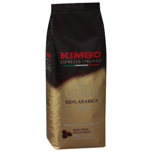 Кофе в зернах Kimbo Aroma Gold Arabica, арабика, 500 г кофе в зернах kimbo aroma gold 100% arabica 250 г