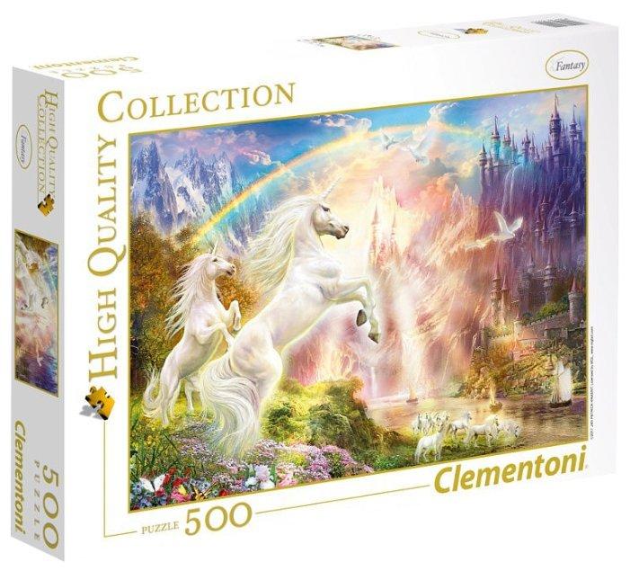 Пазл Clementoni High Quality Collection Волшебные существа (35054), 500 дет.