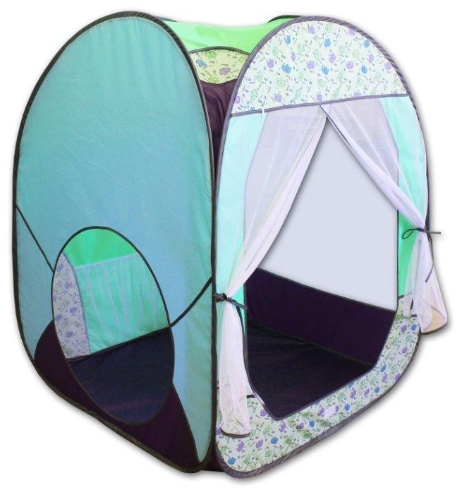 Палатка BELON ПИ-004КУ-ПР Радужный домик 4 грани Квадрат увеличенный принт