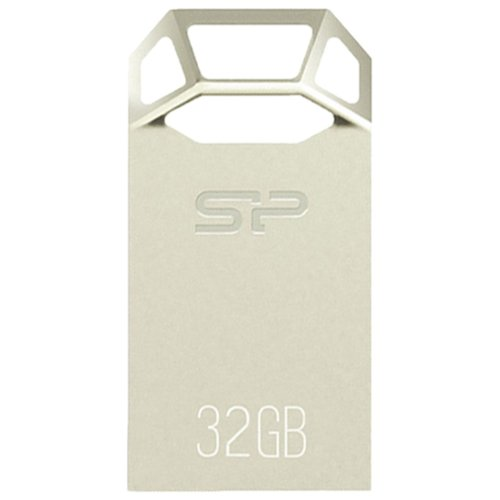Фото - Флешка Silicon Power Touch T50 32GB серо-серебристый флешка silicon power touch t07 32gb розовый