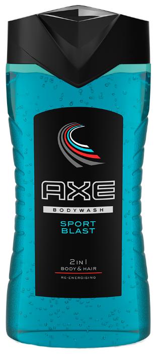 Гель для душа и шампунь Axe Sport Blast