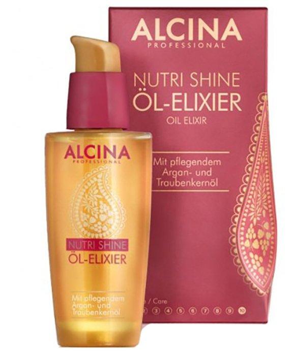ALCINA NUTRI-SHINE Питательное масло-эликсир для волос