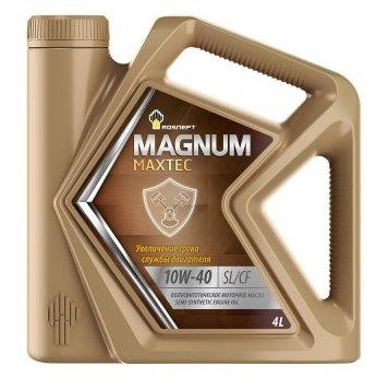 Моторное масло Роснефть Magnum Maxtec 10W-40 4 л