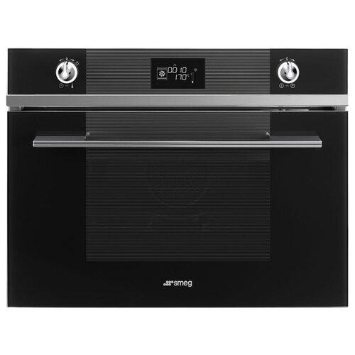 Электрический духовой шкаф smeg SF4102VCN электрический духовой шкаф smeg sf6922npze1