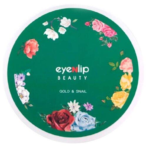 Eyenlip Гидрогелевые патчи для глаз Gold & Snail Hydrogel Eye Patch 84 г (60 шт.)Для глаз<br>