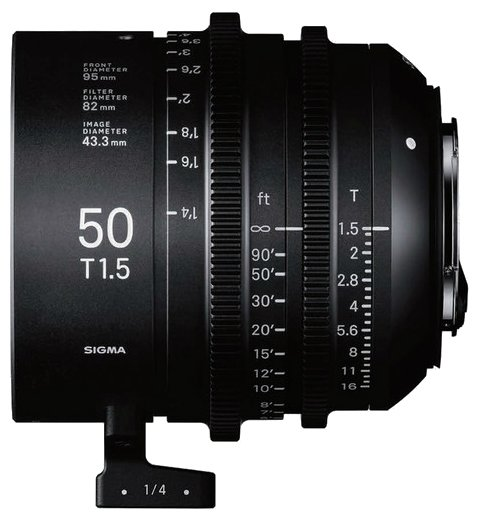 Объектив Sigma 50mm T1.5 Sony E