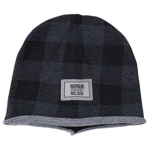 Шапка playToday размер 46, серый/темно-серый шапка r mountain арт ice 8172 темно серый
