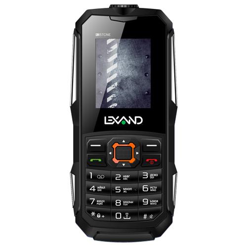 Телефон LEXAND R2 Stone черный