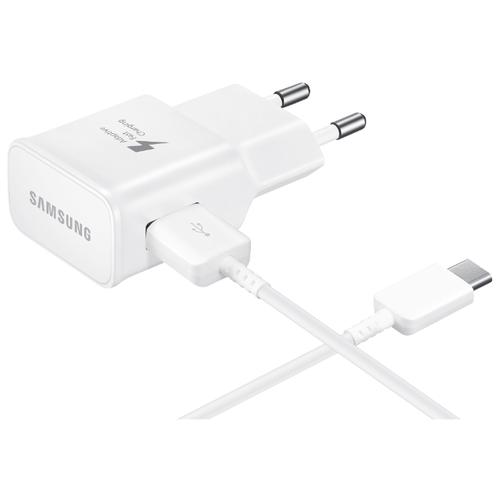 Купить Сетевая зарядка Samsung EP-TA20EWECGRU белый