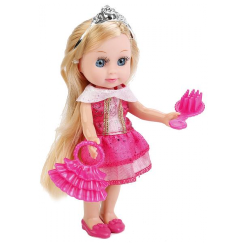 цена на Кукла Карапуз Hello Kitty Моя подружка Машенька с комплектом одежды, 15 см, MARY63010А-HK