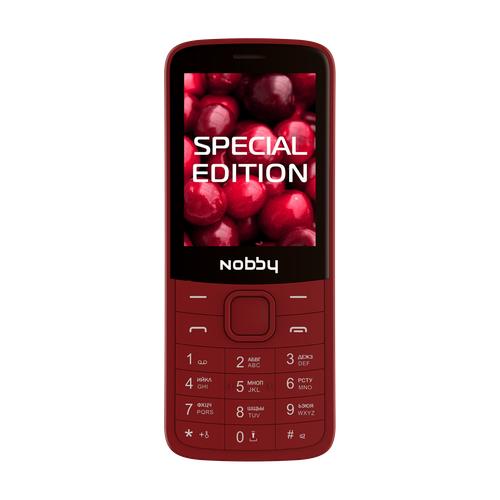 Телефон Nobby 220 вишневый
