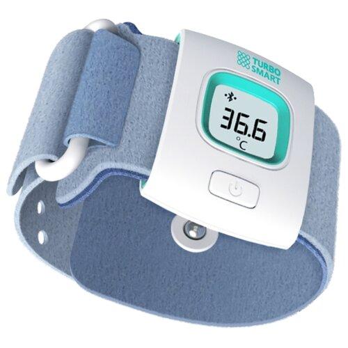 Фото - Электронный термометр Turbo Smart белый/голубой термометр электронный and dt 624 корова синий белый