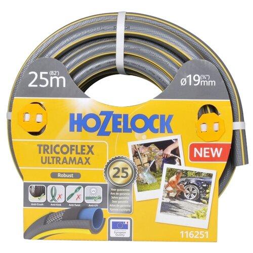 "Шланг HOZELOCK Tricoflex Ultramax 3/4"" 25 метров серый"