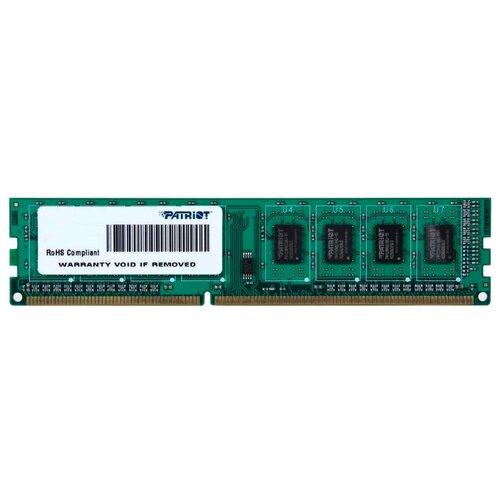 Оперативная память Patriot Memory DDR3 1600 (PC 12800) DIMM 240 pin, 2 ГБ 1 шт. 1.5 В, CL 11, PSD32G16002