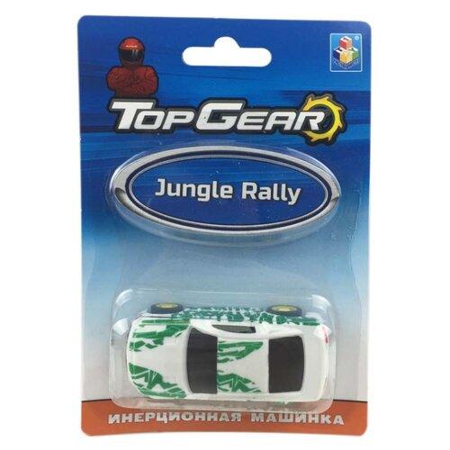 Легковой автомобиль 1 TOY Top Gear Jungle Rally (Т10325) 8 см белый