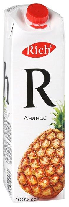 Сок Rich Ананас, стекло, 0.2л