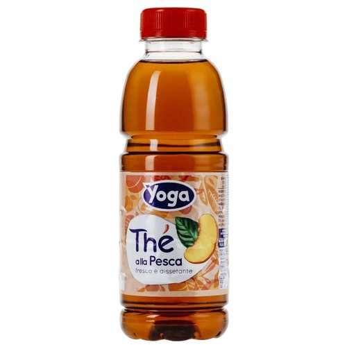 Чай Yoga Персик, ПЭТ, 0.5 л
