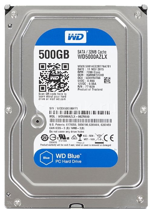Жесткий диск WESTERN DIGITAL Caviar Blue 3.5