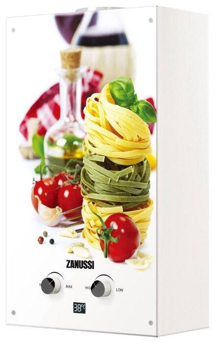 Проточный водонагреватель Zanussi GWH 10 Fonte Glass La Spezia