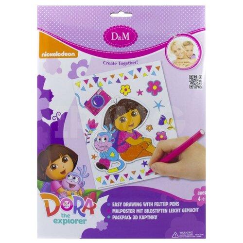 цена на D&M Декоративное панно 3D картина Путешествие. Dora