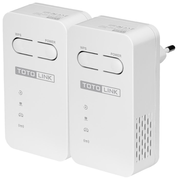 Wi-Fi+Powerline адаптер TOTOLINK PLW350KIT