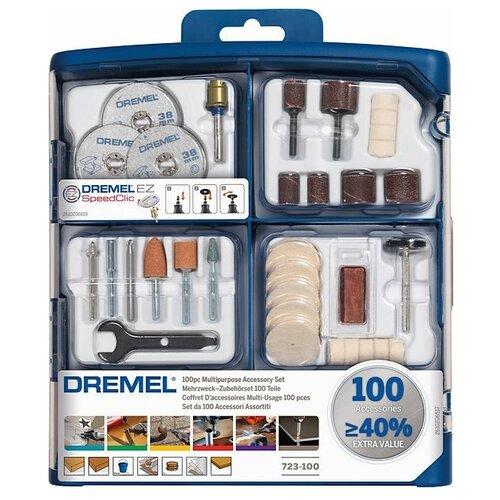 Набор насадок Dremel 723 100 шт.Насадки для граверов<br>