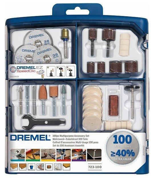 Набор насадок Dremel 723 100 шт.