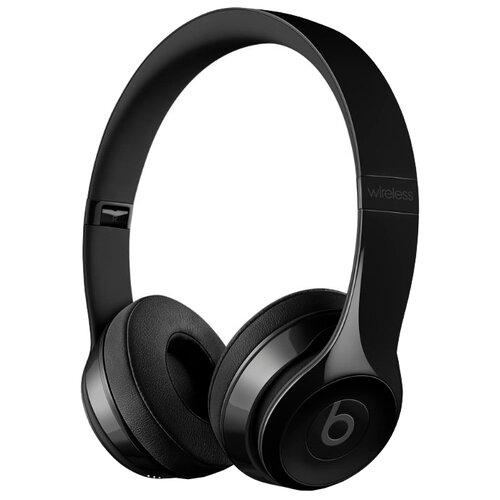 Наушники Beats Solo3 Wireless глянцевый черный беспроводные наушники beats solo3 wireless decade collection черный красный