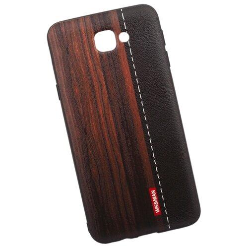 Чехол WK WK13 для Samsung Galaxy J5 Prime красное дерево