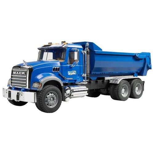 Купить Грузовик Bruder Mack (02-823) 1:16 61.5 см синий, Машинки и техника