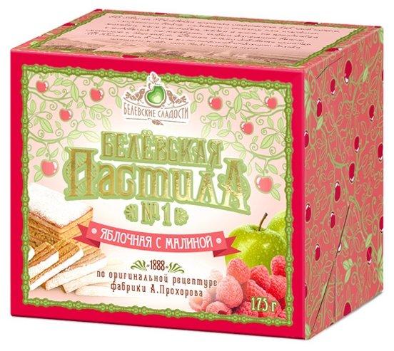Пастила Белевские сладости Белёвская яблочная с малиной 175 г
