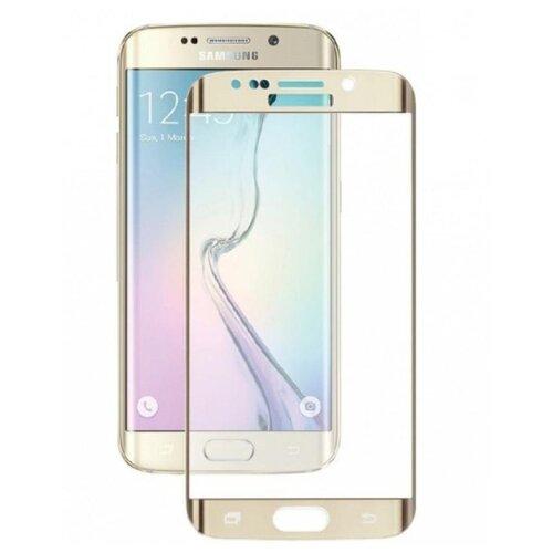 Защитное стекло CaseGuru для Samsung Galaxy S7 gold