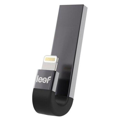 Фото - Флешка Leef IBRIDGE 3 32GB, черный leef ibridge 3 32gb серебристый