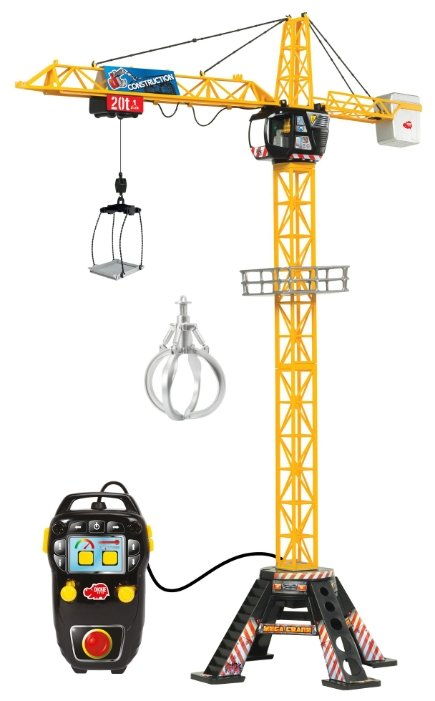 Подъемный кран Dickie Toys Mega Crane (3462412)