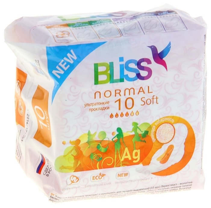 Bliss прокладки Normal Soft