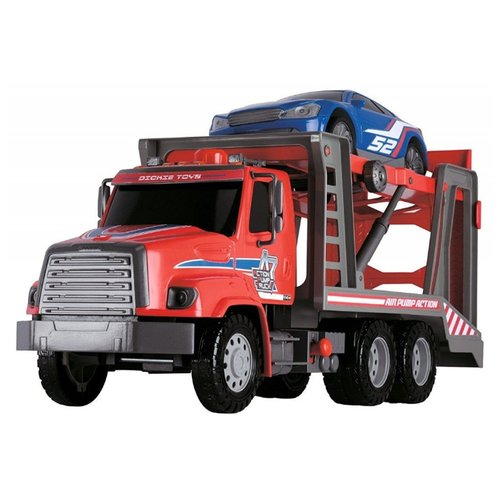 Набор машин Dickie Toys Транспортер Air Pump (203809010) 57 см красный/синий dickie светофор набор дорожных знаков 24 см 3741001