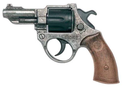 Револьвер Edison Giocattoli Police Deluxe FBI Federal Antik (206/96)