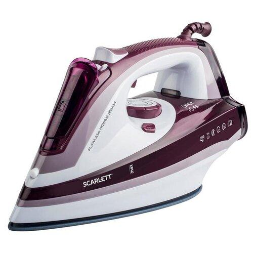 Утюг Scarlett SC-SI30K26 фиолетовый/белый утюг scarlett sc 135s