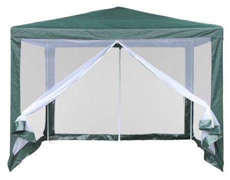 Шатер Афина-Мебель AFM-1040N, со стенками и москитной сеткой, 3 х 3 х 2.5 м
