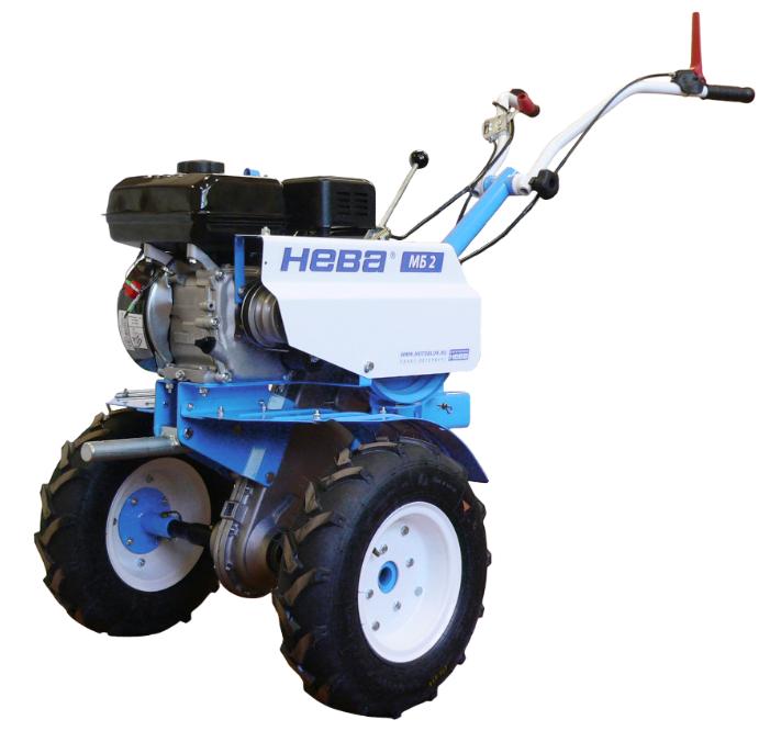 Мотоблок Нева МБ2-КС (168FA) двигатель Kasei (6.5 л.с.)