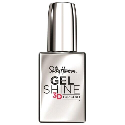 Верхнее покрытие Sally Hansen Gel Shine 3d Top Coat 13.3 мл прозрачный sally hansen mega shine top coat