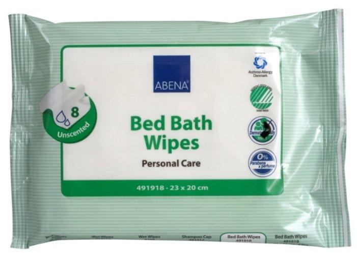 Влажные салфетки Abena Для гигиенических ванн 23x20 см (491918)