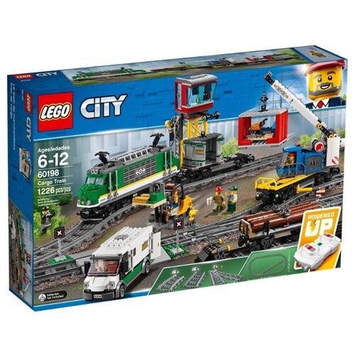 Купить Электромеханический конструктор LEGO City 60198 Грузовой поезд, Конструкторы