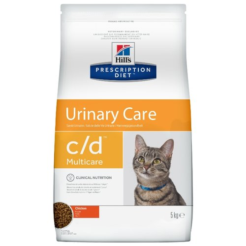 Корм для кошек Hills Prescription Diet C/D Multicare Feline Chicken dry (5 кг)Корма для кошек<br>