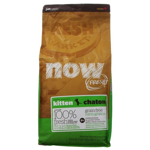 Корм для кошек NOW FRESH (3.63 кг) Grain Free Kitten Food