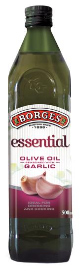 Borges Масло оливковое Essential с чесноком