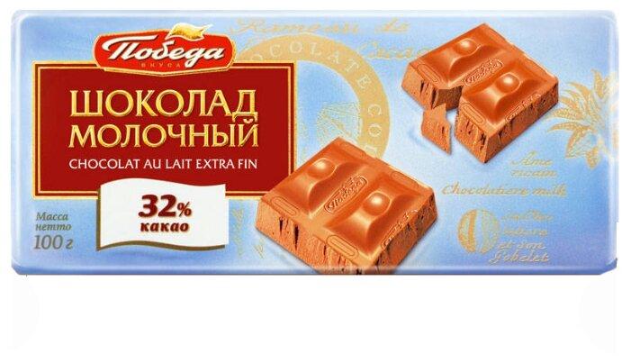 Шоколад Победа вкуса молочный