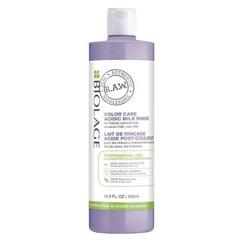 Biolage Молочко для завершения окрашивания волос R.A.W. Color Care, 500 мл набор biolage r a w color care для защиты цвета волос matrix biolage r a w