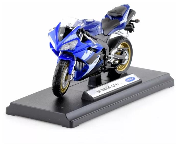 Мотоцикл Welly Yamaha YZF-R1 масштаб 1:18 - 12806P